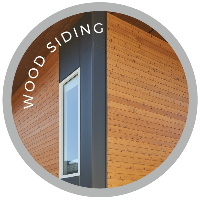 Custom Pre-Finished Wood Siding
