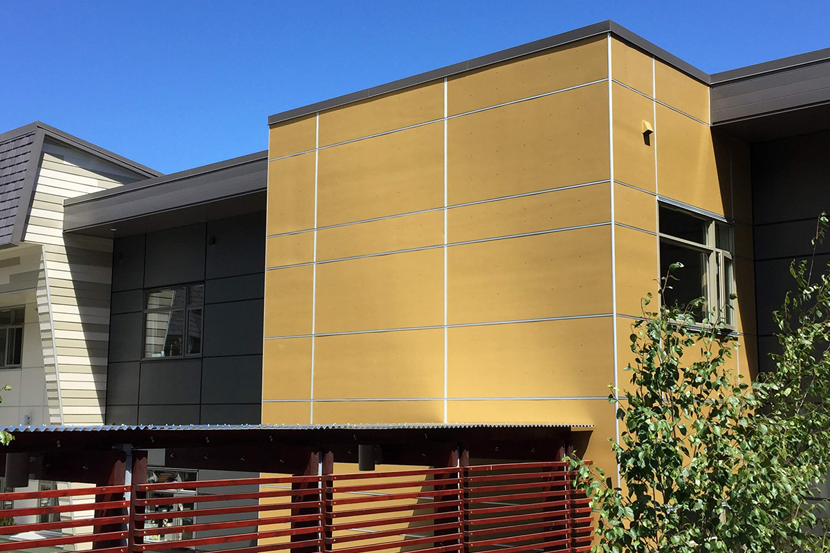 Fisher Coating TrueColour™ James Hardie Fibre Cement Panel